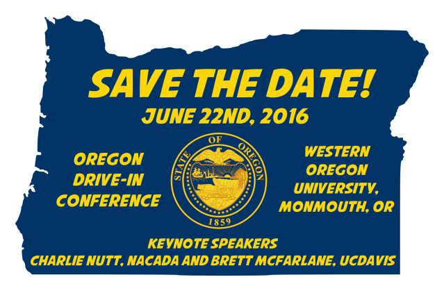 Oregon Drive-In Save the Date w-keynote